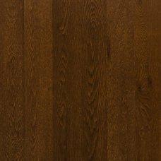 Паркетная доска Floorwood Oak Madison dark brown 1s однополосный
