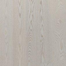 Паркетная доска Floorwood Ash Madison premium white matt 1s однополосный