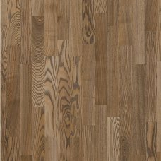 Паркетная доска Floorwood Ash Madison brown 3s трехполосный