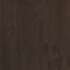 Паркетная доска Floorwood Ash Madison dark brown 3s трехполосный