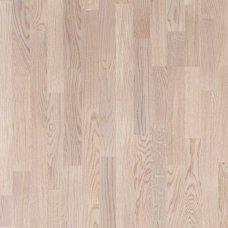 Паркетная доска Floorwood Oak Orlando white 3s трехполосный