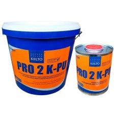 Полиуретановый двухкомпонентный клей для паркета Kiilto Pro 2k-PU