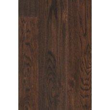 Дуб Парос коричневый струганый планк