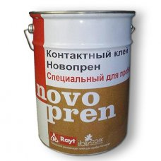 Клей контактный для пробки Novopren 5 литров