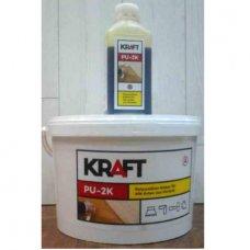 Двухкомпонентный клей Kraft PU-2K для паркета